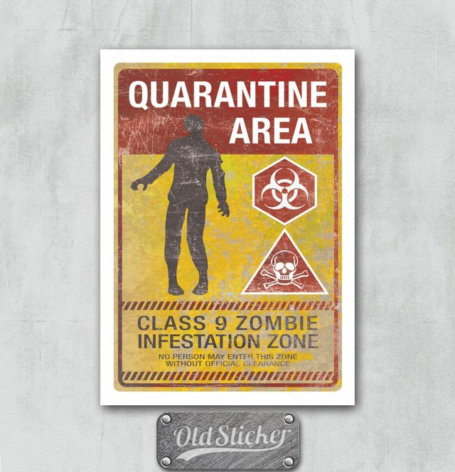 Placa Quarantine Area