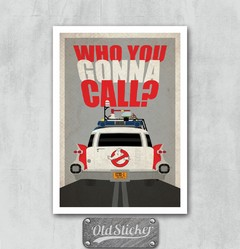 Placa Who You Gonna Call?