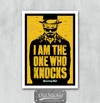 Placa I Am The One Who Knocks