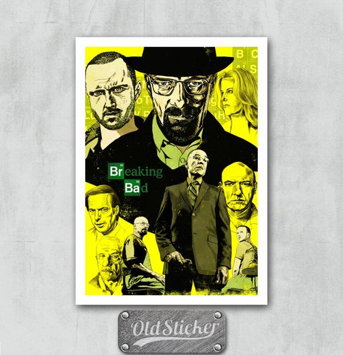 Placa Breaking Bad