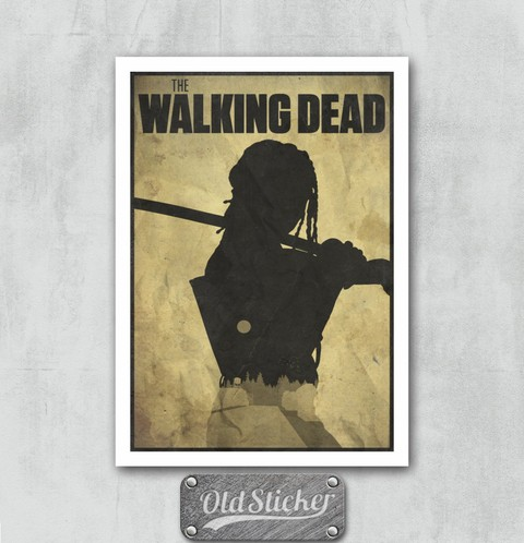 Placa The Walking Dead