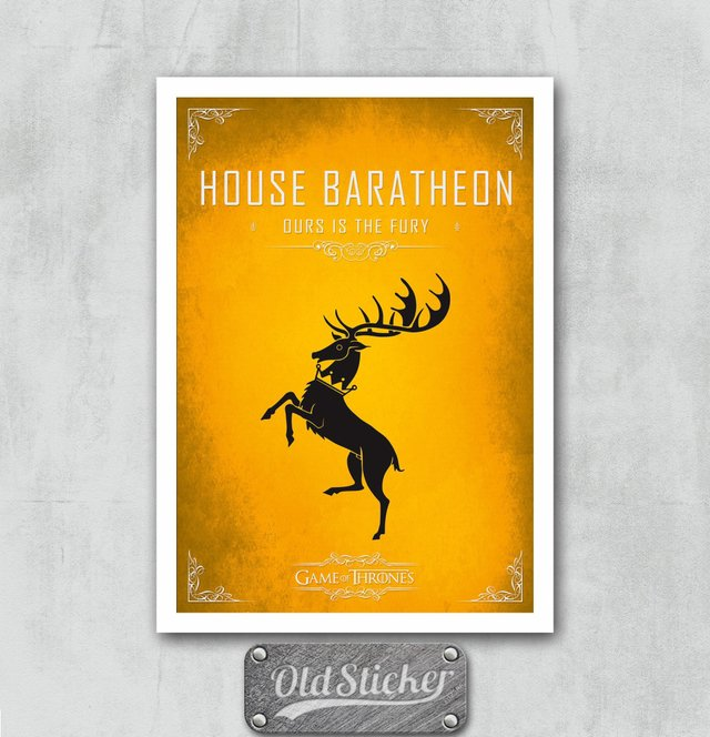 Placa House Baratheon