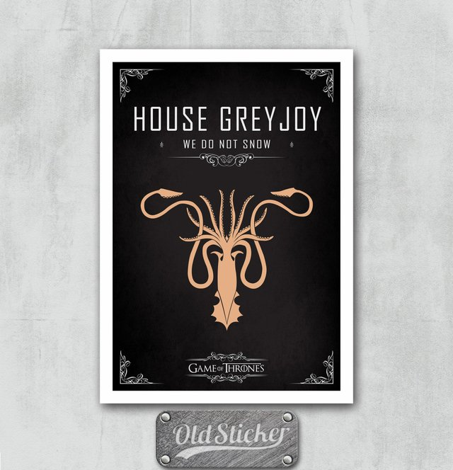 Placa House Grayjoy