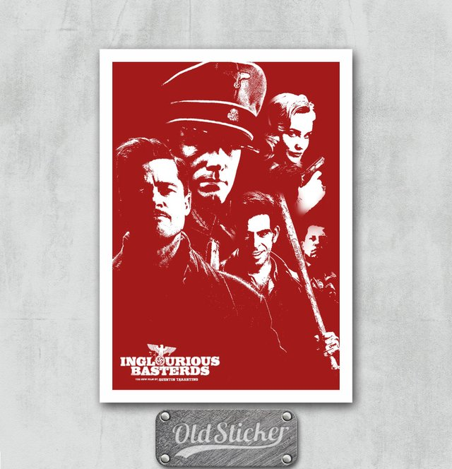 Placa Inglorious Basterds