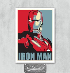 Placa Iron Man