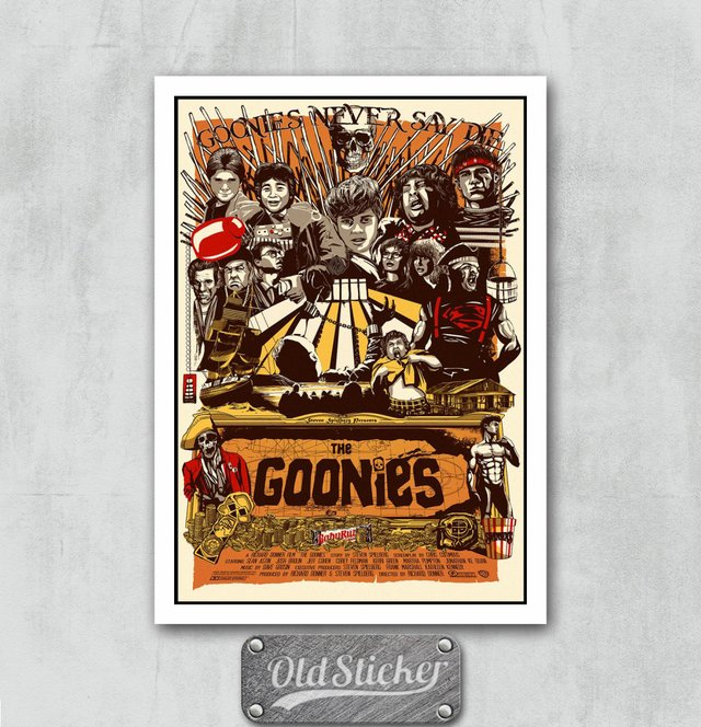 Placa The Goonies