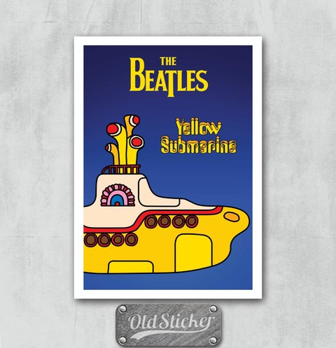 Placa Yellow Submarine