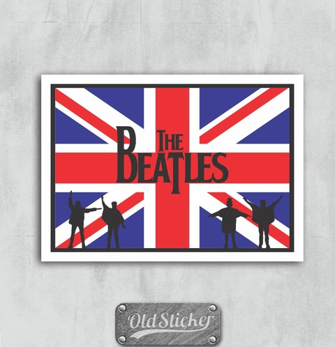 Placa The Beatles U.K