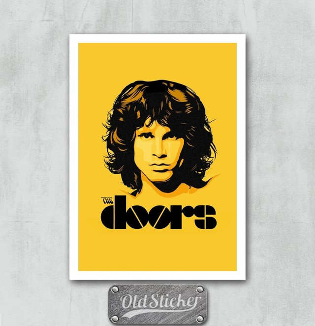 Placa The Doors
