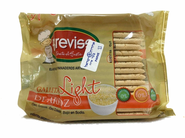 GALLETAS DE ARROZ LIGHT