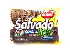 "Galletitas de salvado light sin sal 410g ""Granix"""