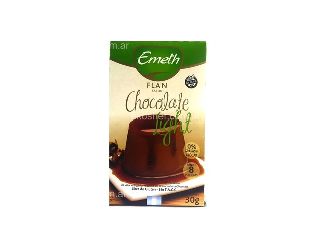 FLAN LIGHT SABOR CHOCOLATE