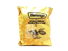 "Alfajor de chocolate relleno de ddl ""Merengo"""