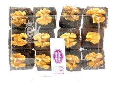 "BROWNIE DE CHOCOLATE CON NUEZ ""DELICIAS KOSHER"""