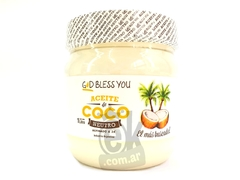 "Aceite de coco neutro 1lt ""God Bless You"""