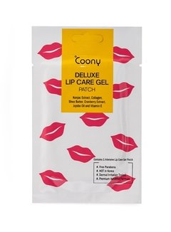 COONY DELUXE LIP CARE GEL PATCH -Labios hidratados y sensuales-