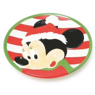 Prato Minnie de Natal - Disney