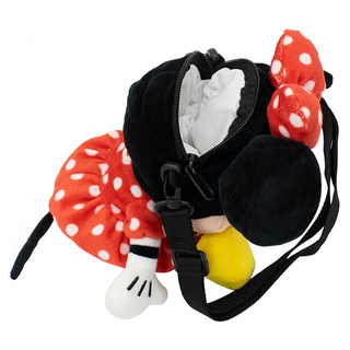 Bolsa de Pelúcia da Minnie 30cm - Disney - Mickey e Minnie Presentes