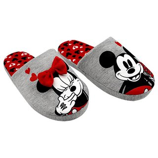 Chinelo Pantufas Mickey e Minnie - Disney