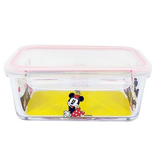Pote de Vidro com Trava Minnie Magia 1500ML - Disney