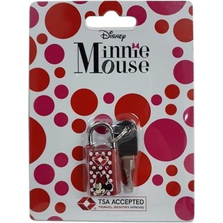 Cadeado Minnie Mouse TSA - Disney