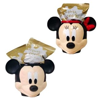 Kit Caneca 3D Mickey e Minnie com Cookies - Disney