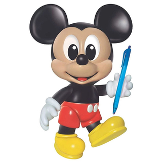 Boneco Vinil Mickey 27cm - Disney - Mickey e Minnie Presentes
