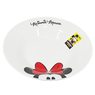 Prato Fundo Porcelana Minnie Alegria - Disney