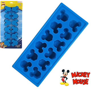 Forma de Silicone Mickey Gelo Chocolate - Disney