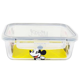 Pote de Vidro com Trava Mickey Alegria 1500ML - Disney