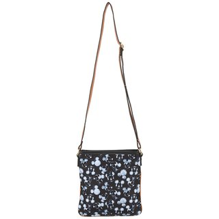 Bolsa Lateral Mickey Minnie Preta Retangular Nylon - Disney na internet