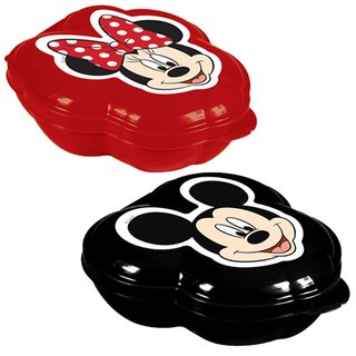 Kit Potes Porta Mix Mickey e Minnie - Disney