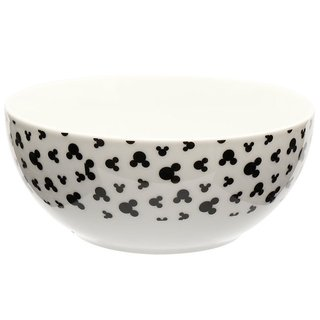 Bowl Mickey Branco com Preto - Disney