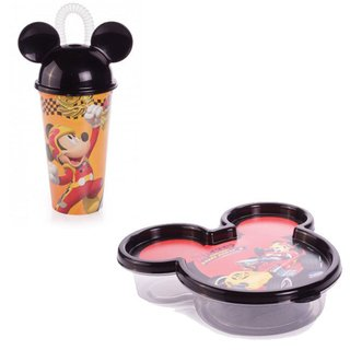 Copo + Pote Mickey Roadster Racers - Disney