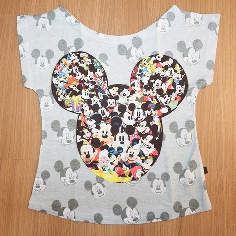 Camiseta Infantil Mickey Mouse Icon