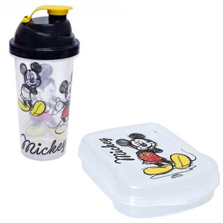 Kit Sanduicheira e Copo Mickey - Disney