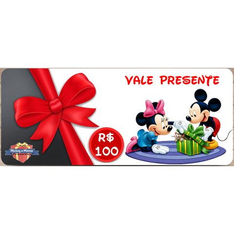 vale-presente-mickey-e-minnie-presentes-100-reais