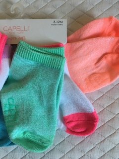 Kit 6 pares de Meias Color Capelli New York - comprar online