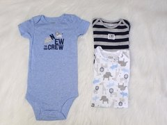 Kit 3 Bodies Azul Child of Mine Carter´s - comprar online