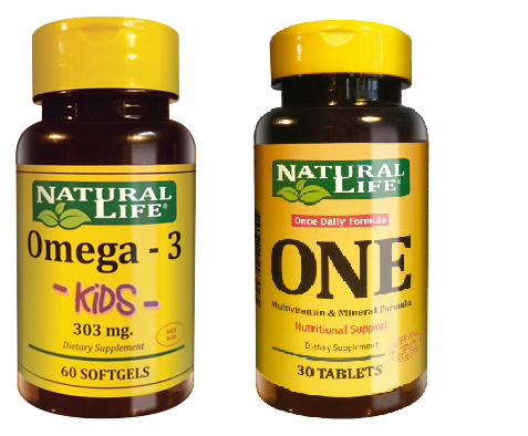 D- Combo Para Padres- (Omega 3-KIDS + ONE)