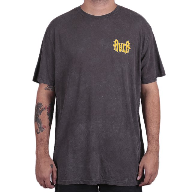 CAMISETA RVCA WINGS BLACK M647L02W