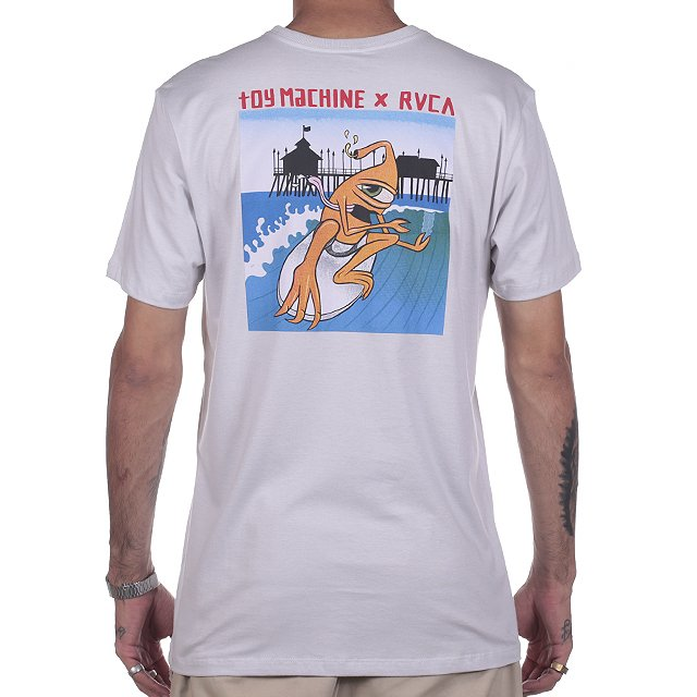 CAMISETA RVCA x TOY MACHINE SURFER RV01A0134