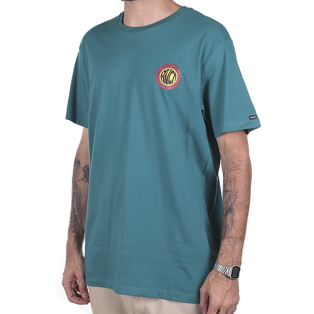 CAMISETA RVCA LONG LIFE VERDE RV01A0139
