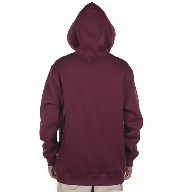 MOLETOM RVCA CUT FLEECE VINHO RV38A0021