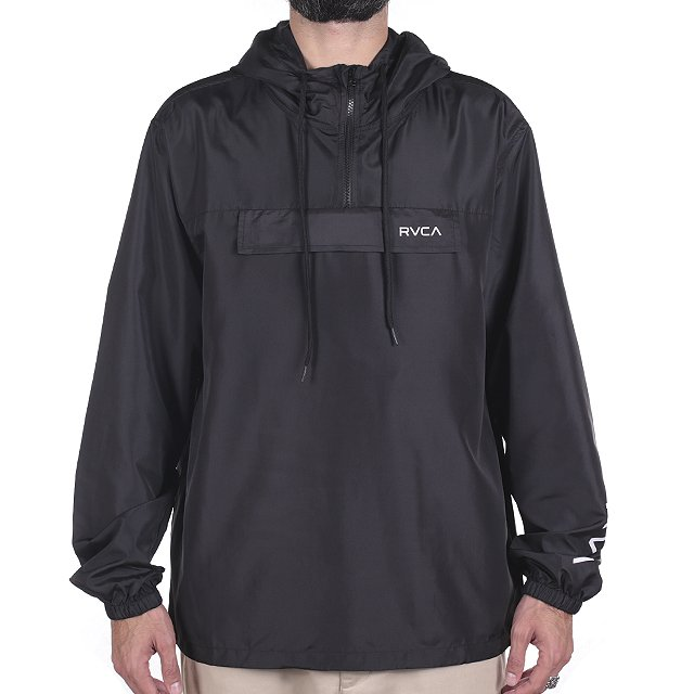 JAQUETA RVCA PACKWAY ANORAK RED RV34A0002