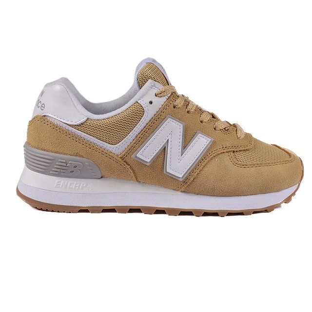 7e69db3f3 TENIS NEW BALANCE 574 BEGE CINZA BRANCO ML574EGG. 0% OFF. 1