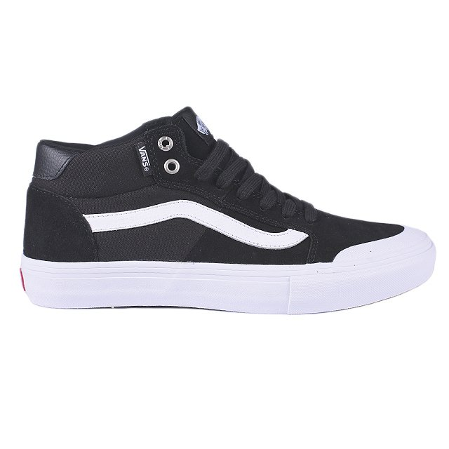 TENIS VANS STYLE 112 MID PRO BLACK VN0A3DOVY28