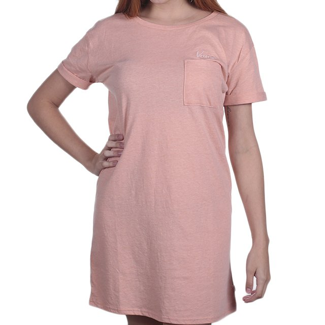 VESTIDO VANS PARADISE MUTED CLAY HEATHER VN0A3IO3P30