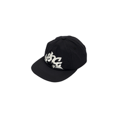 BONÉ HIGH 6 PANEL STAR BLACK