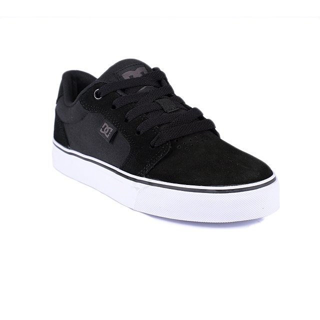 TENIS DC ANVIL LA BLACK WHITE ADYS300200PBWB